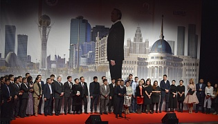 """The Way of the Leader: Astana"" film premiered in Almaty"